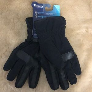 Isotoner Signature Gloves Black Sz M NWT